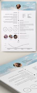 50 Best Resume Templates Images On Pinterest Resume Ideas