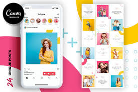 Simply drag and drop your stroke based svg and set your options. Colorful Instagram Puzzle Template For Canva 561785 Instagram Design Bundles In 2020 Instagram Design Instagram Template Design Instagram Editing Apps