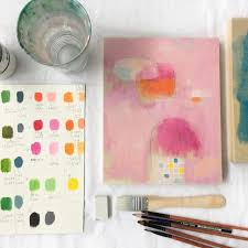 students learn about colour mixing and handling acrylics in a way that is intuitive and fun it s paced to take the fear of the blank canvas away so that