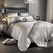 glitter fade silver ombre duvet cover by kylie minogue at home