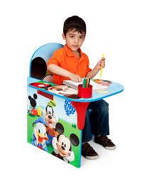 com delta children chair desk with storage bin disney mickey mouse baby