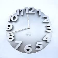 digital office wall clocks. modren wall 3d contemporary round digital office home wall clock front  with clocks