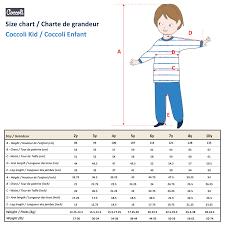 Boys Size Chart Size Charts