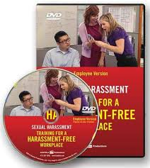 Dvds on sexual harassment training