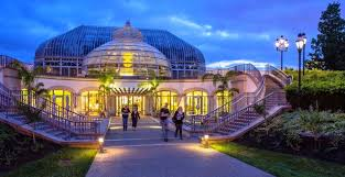 phipps conservatory and botanical gardens a great steel and glass victorian greenhouse once part of a dirty steel mill city has now been transformed into