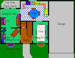 Simpsons House Floor Plan  simpson house plan   Friv GamesSimpsons House Floor Plan
