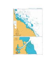 British Admiralty Naut Chart 159 Suez As Suways To