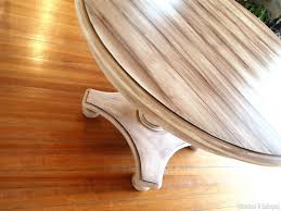 Wood Looking Paint Faux Planked Table Transformation Reality Daydream