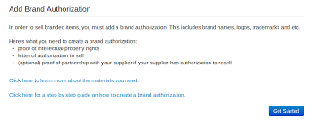 Step By Step Guide To Create A Brand Authorization Wish For Merchants