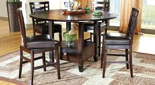 solid wood counter height table counter height wood table round tables neat round dining room tables