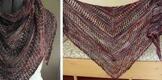 Free Knitting Patterns Magnificent Reyna Knitted Lace Shawl [FREE Knitting Pattern]