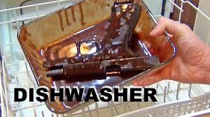 How Do I Clean My Dishwasher Can You Clean A Gun In The Dishwasher Youtube