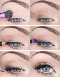 natural smudged look