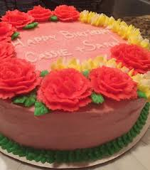 Sara And Cassies Birthday Cake