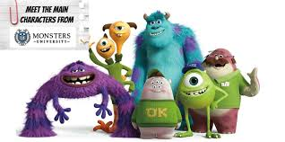 monster inc characters. Simple Inc With Monster Inc Characters