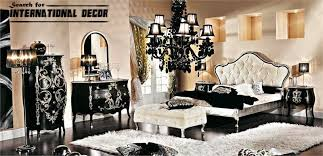 Luxury Italian Bedroom And Furniture In Classic Style Interior Enchanting Bedroom Furniture And Decor