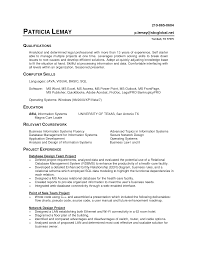 Great Skills In Resume Computer Literate Gallery Resume Ideas