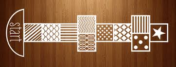 Hopscotch Pattern Classy Pattern Hopscotch Floor Decal
