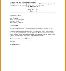 Sample Cover Letter For Nursing Job Application New Nurses Letters