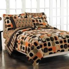 orange and brown bedding. Simple Brown Sunset Comforter Bed Set Size Queen By Rizzy Home 33000 Bedding Some  Assembly May Be Required Please See Product Details Beddingu003eBed In Au2026 Intended Orange And Brown Bedding V