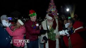 New Haven Green Tree Lighting 2018 New Haven Green Wtnh Com