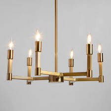gold torch 6 light elsa chandelier ad