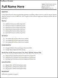 Job Resume Template 2014 Kingseosolution Com