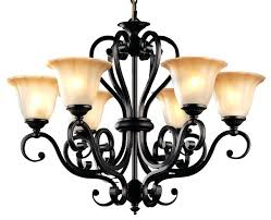 rustic chandelier lighting retro style black iron 6 light rustic chandelier lighting glass shade rustic flush