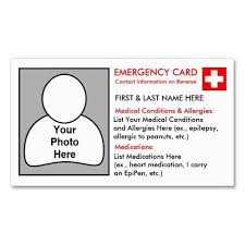 Girl co uk Id Card Zazzle Medical Template Cards Scouts Personalised Information Information Cards