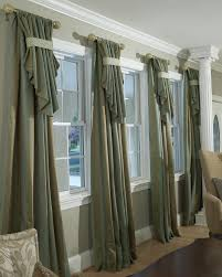 Window Treatments For Large Windows In Living Room Decorating Den Interiors Shelley Rodner Cid Custom Window