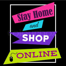 Shop Stock Quote Unique Stay Home And Shop Online Shopping Quote Slogan Tshirt Print