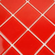 red glass tile crystal glass tile vitreous mosaic wall tiles red glass mosaic tiles kitchen