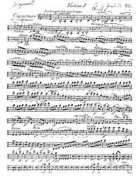 Music Paper Print Sheet Music For The Overture To Egmont Art Print