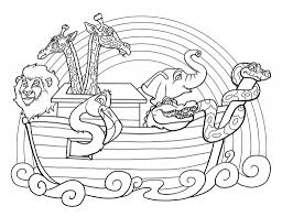 Small Picture Noahs Ark Monkey Coloring Coloring Pages
