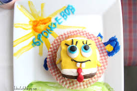 Spongebob Cupcakes With Frosting Julies Cafe Bakery A Food Blog