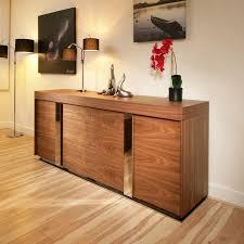 Living Room Sideboards And Cabinets Avant Garde Design Studios Modern Large Walnut Sideboard Cabinet