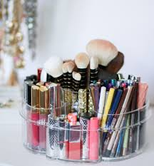makeup organization for small es featuring the most affordable acrylic makeup organizers by beauty ger ashley