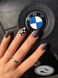 Nascar Nail Art Designs Hey Hunnay Your Boyfriend Have Bmw Oh Hunnay Why He Not