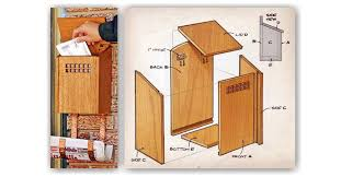 Image Cedar Masedytour Wooden Mailbox Plans Woodarchivist