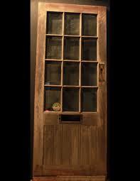 tiptop door panes glass panes over panel front door with stock style pine