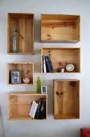 7 wine crate box shelves