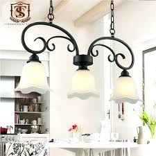 french country pendant lighting. French Country Pendant Lights Dining Room Lighting Style  Lamp Black Wrought Iron And Glass Shade Hanging Led French Country Pendant Lighting H