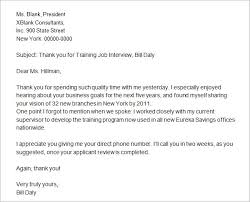 15 Writing A Thank You Letter For Interview Proposal Bussines