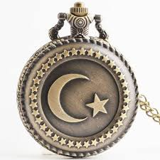 vintage style retro sailor moon star bronze quartz pocket watch necklace pendant clock with chain gift for girls women tpb022 pocket watches best watches