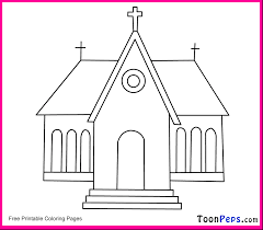 Small Picture Church Coloring Pages To Print nebulosabarcom