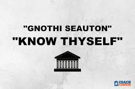 Know Thyself Quote Image Coach Carson