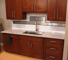 Dark Cherry Shaker Kitchen Cabinets Photo Album