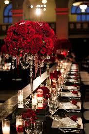 Charming Red Rose Themed Wedding Decorations 95 For Your Wedding Table  Decoration Ideas With Red Rose