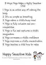 8 Ways Yoga Can Help a Highly Sensitive Child | Happy Sensitive Kids