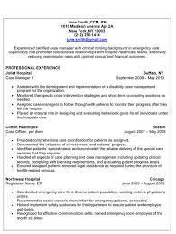 Resume Template Director Of Nursing Resume Sample Free Career